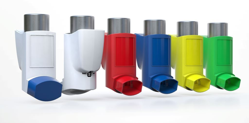 eMDI smart connected inhaler